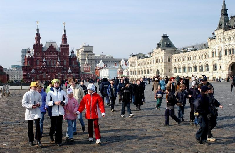 Children in Red Square